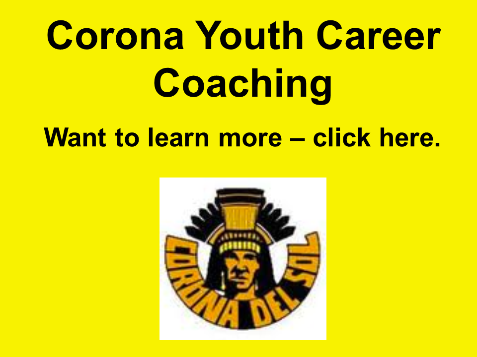 corona youth career coaching